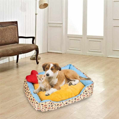 Colorful and stylish Soft and Comfortable Pet Bed-Zaapy Pet