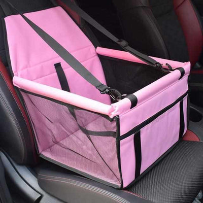 Deluxe Foldable Dog Car Seat Carrier-Zaapy Pet