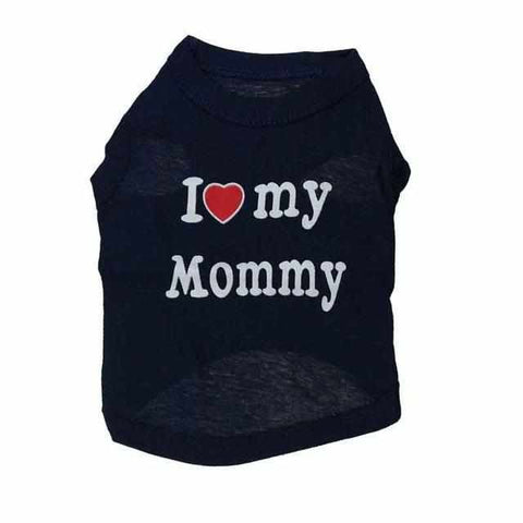 Lovely Mommy and Daddy Pet Shirt-Zaapy Pet