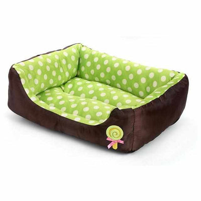 Modern Poke Dot Pet Soft Bed and Mat-Zaapy Pet