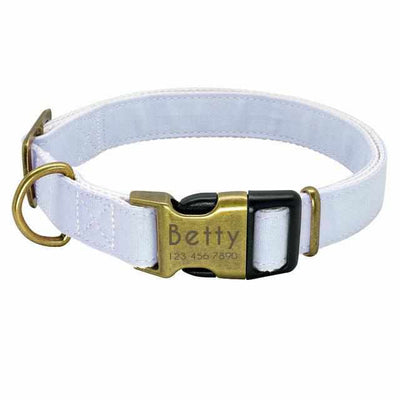 Personalized Custom Engraved Pet Collar-Zaapy Pet