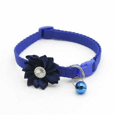 Queenly Flower Ring Pet Collar-Zaapy Pet