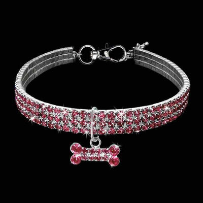Rhinestone Pet Crystal Collar-Zaapy Pet