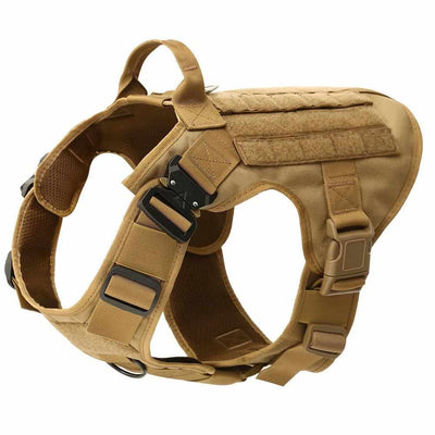 Tactical Large Dog Harness Vest with Handle,-Zaapy Pet