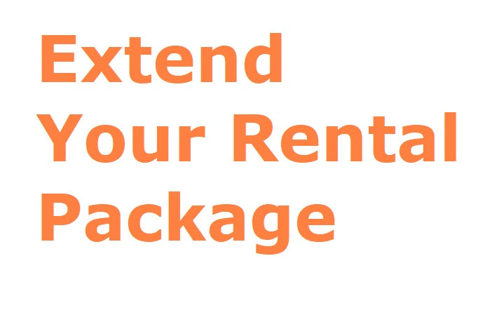 "<b style=""color:red""> Pay for Additional Weeks of Rental </b>"