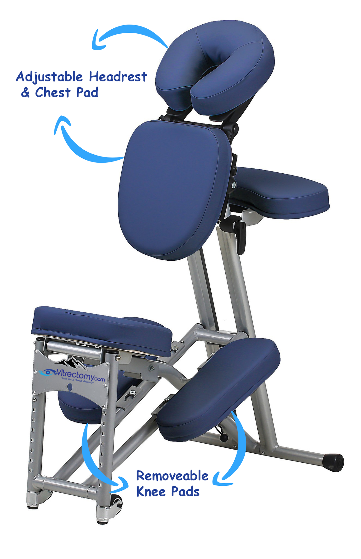 vitrectomy chair, face down recovery, macular hole surgery recovery equipment