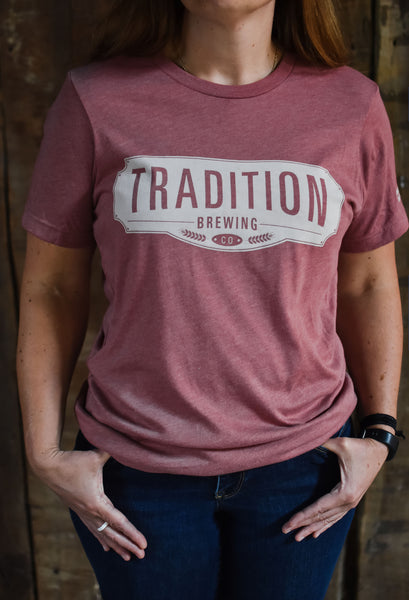 Tradition T-Shirt - Mauve