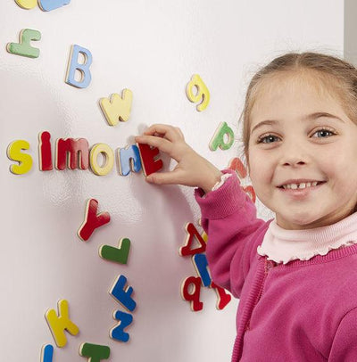 Little Marshans:Magnetic Wooden Letters: