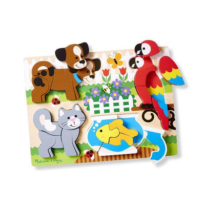 Little Marshans:Pets Chunky Jigsaw Puzzle: