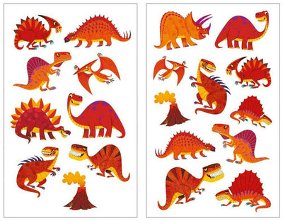 Little Marshans:Scratch and Sniff Stickers - Red Hot Dinos: