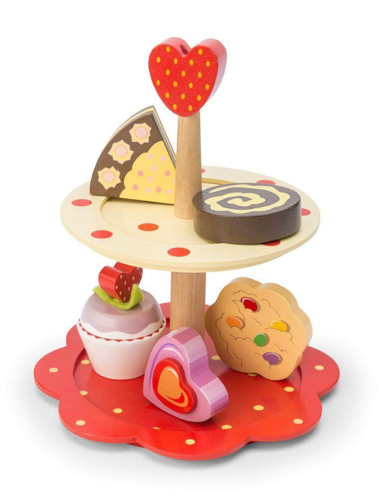 2 Tier Cake Stand - Little Marshans