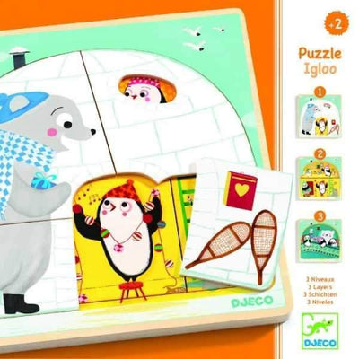 3 layers puzzle - Igloo - Little Marshans