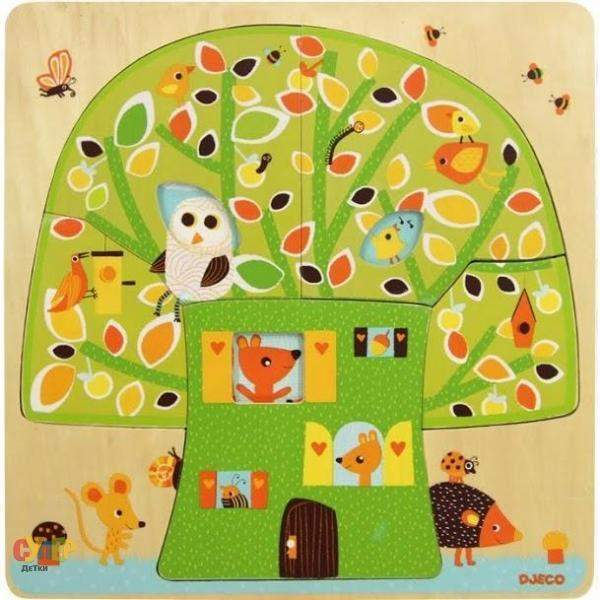 3 layers puzzles - Chez nut - Little Marshans