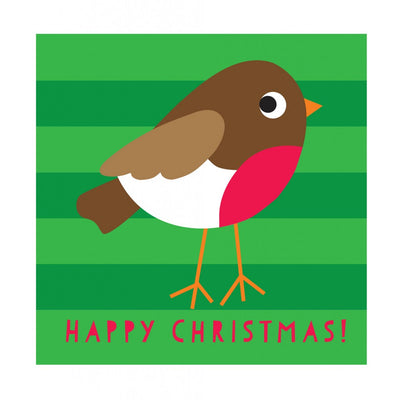 Christmas Robin Card - Little Marshans