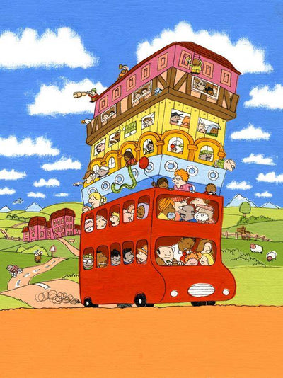 The Hundred Decker Bus by Gardners - Little Marshans