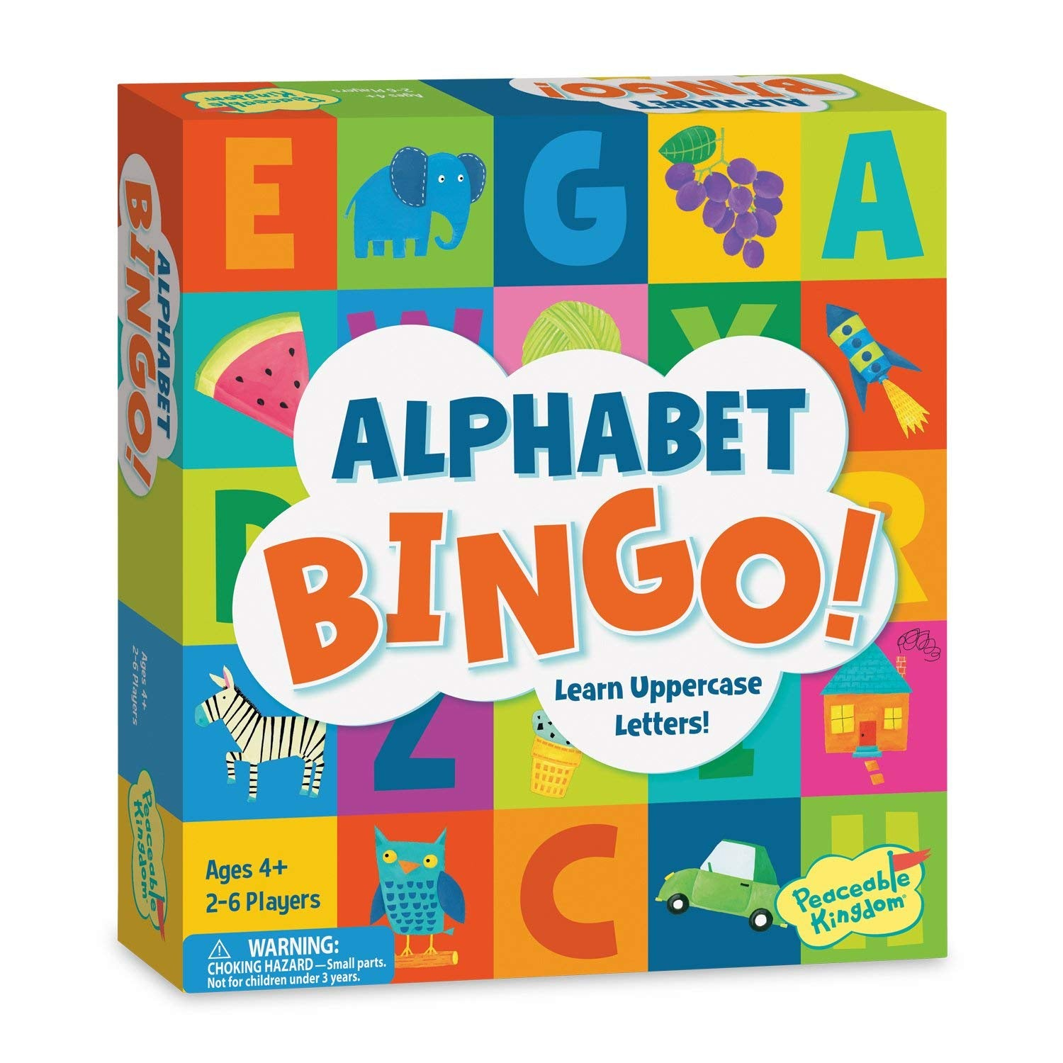 Alphabet Bingo! Learn Uppercase Letters!