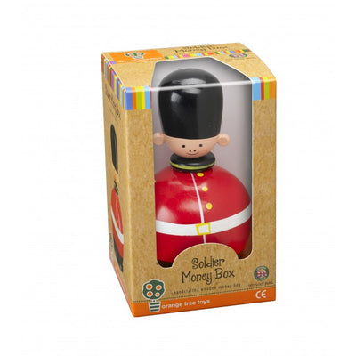 Soldier Money Box by Orange Tree Toys - Little Marshans