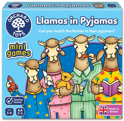 Mini Game Llamas in Pyjamas by Orchard Toys - Little Marshans