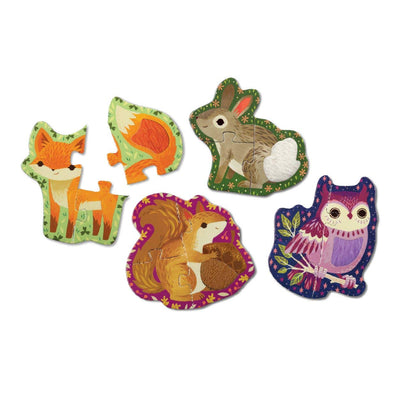 Forest Animals Touch & Feel Puzzle