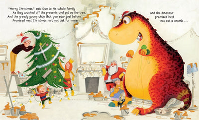 Dinosaur That Pooped Christmas - Little Marshans