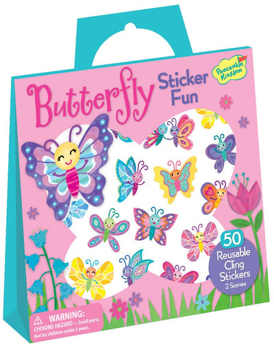 Butterfly Reusable Sticker Tote - Little Marshans