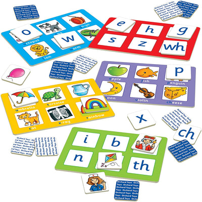 Alphabet Lotto Game - Little Marshans