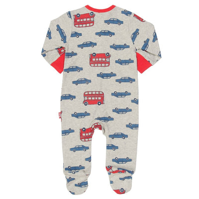 Beep beep zippy sleepsuit - Little Marshans