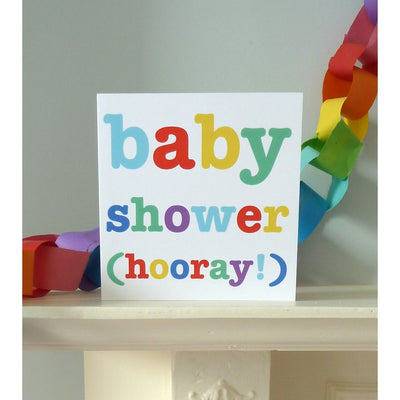 Baby Shower Card - Little Marshans