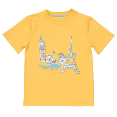 London to Paris t-shirt by Kite - Little Marshans