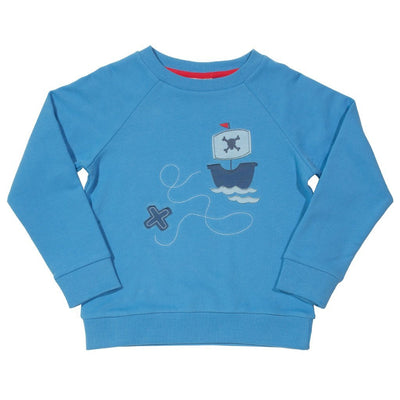 Little Marshans:Pirate sweatshirt: