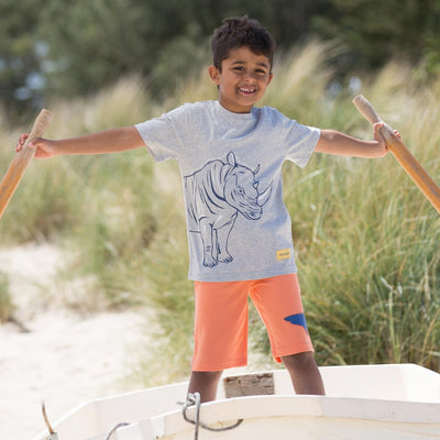 Little Marshans:Shark Shorts: