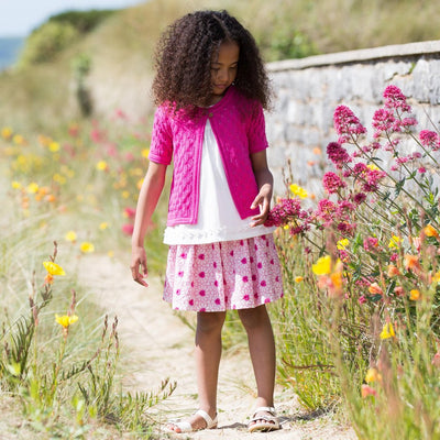 Leaf Lace Cardi by Kite - Little Marshans