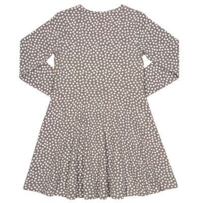 Little Marshans:Dotty skater dress: