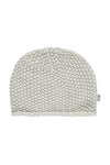 Soft Grey Cotton Knitted Hat by The Little Tailor - Little Marshans