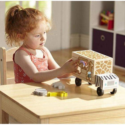 Animal Rescue Wooden Play Set - Little Marshans