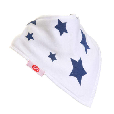 Bandana Dribble Bib Large Stars - Little Marshans