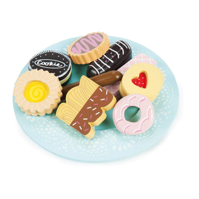 Biscuit & Plate Set - Little Marshans
