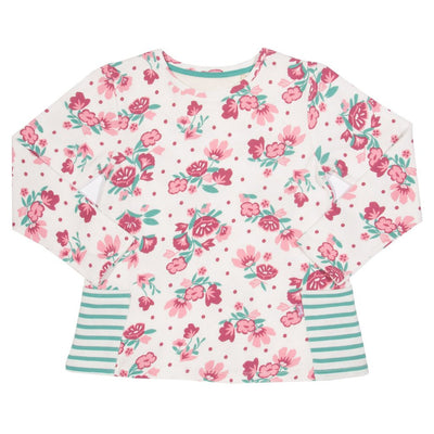 Little Marshans:Rambling rose tunic: