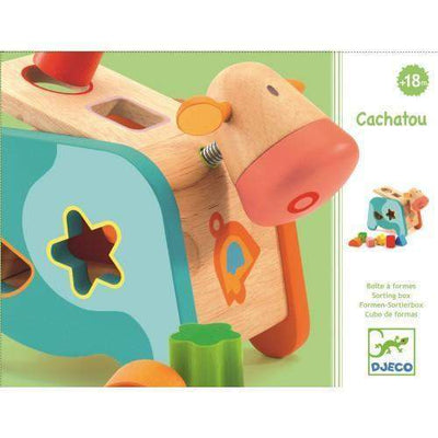 Cachatou Maggy - Shape Sorter - Little Marshans