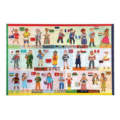 Children Of The World 100Pcs by eeBoo - Little Marshans