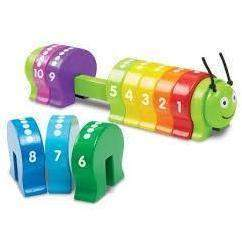 Counting Caterpillar Classic Toy - Little Marshans