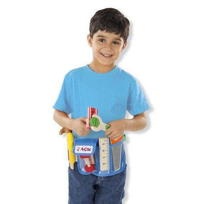 Deluxe Wooden Tool Belt Set - Little Marshans