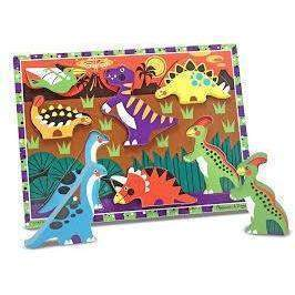 Dinosaurs Chunky Puzzle - Little Marshans