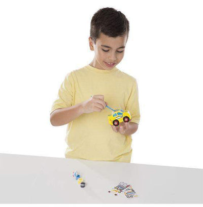 Decorate-Your-Own Race Car Bank - Little Marshans