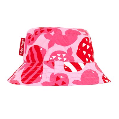 Little Marshans:Fish Reversible Sun Hat:
