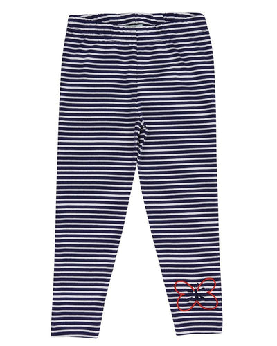 Cropped Stripe Leggings - Little Marshans