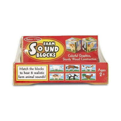 Little Marshans:Farm Sound Blocks: