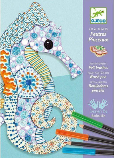 Little Marshans:Felt Brushes - Motif Art: