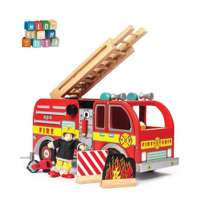Fire Engine Set by Le Toy Van - Little Marshans