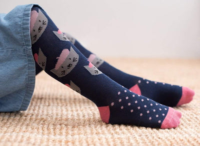 Little Marshans:French Cat Tights: